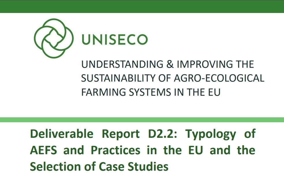 D2.2 - Typology of AEFS and Practices in the EU and the Selection of Case Studies published
