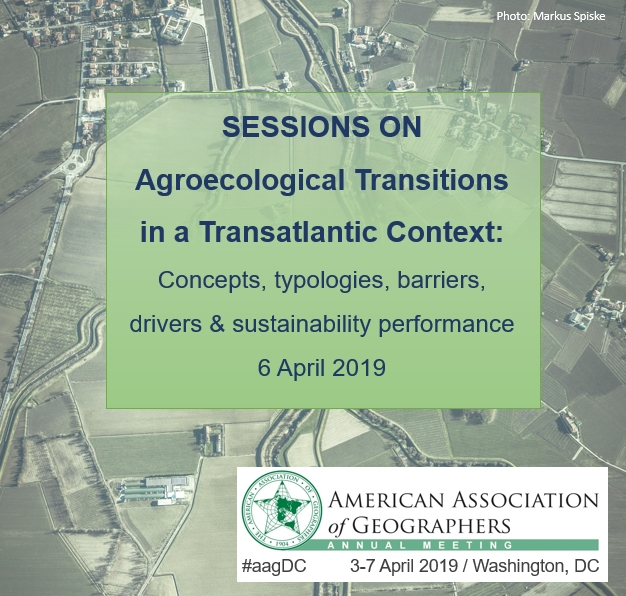 UNISECO sessions at AAG 2019