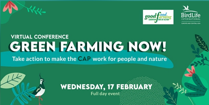 Green Farming Now! virtual conference, 17 February 2021