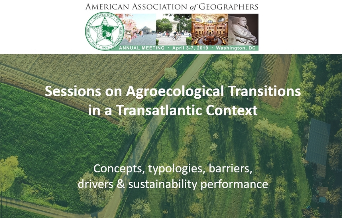 AAG 2019: UNISECO sessions