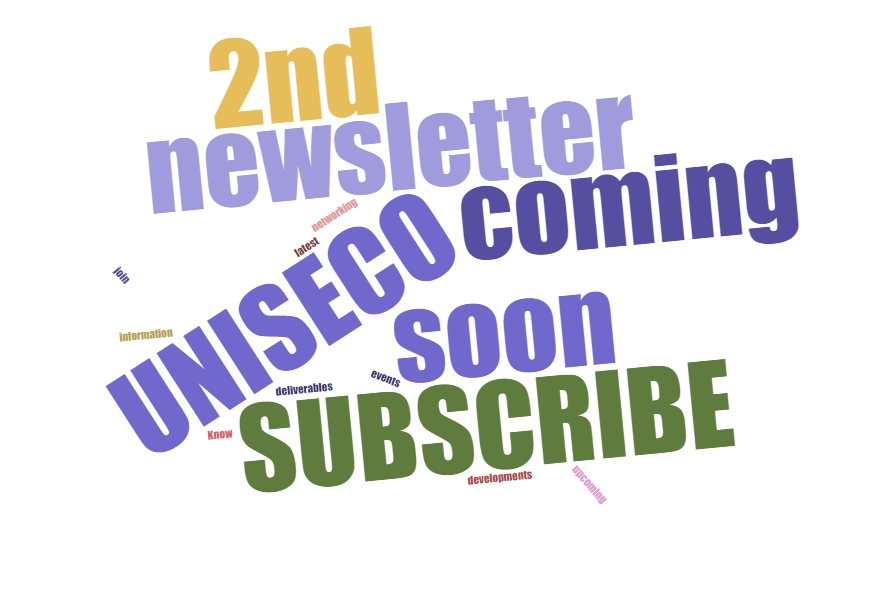 2nd UNISECO newsletter is out soon - subscribe to our newsletter