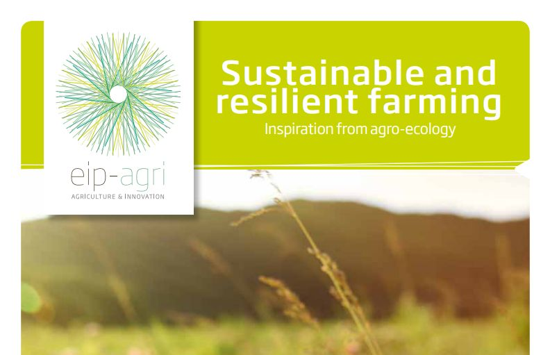 UNISECO in EIP-AGRI brochure on 'Sustainable and resilient farming: inspiration from agro-ecology'