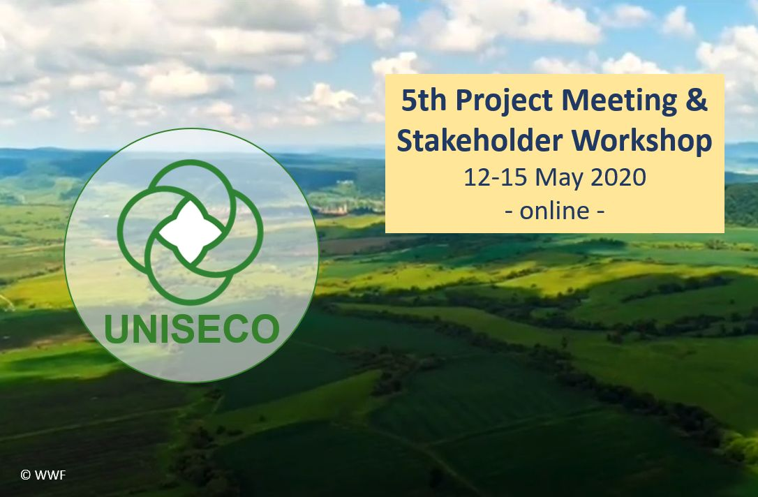 5TH UNISECO PROJECT MEETING WITH STAKEHOLDER WORKSHOP, 12-15 MAY 2020