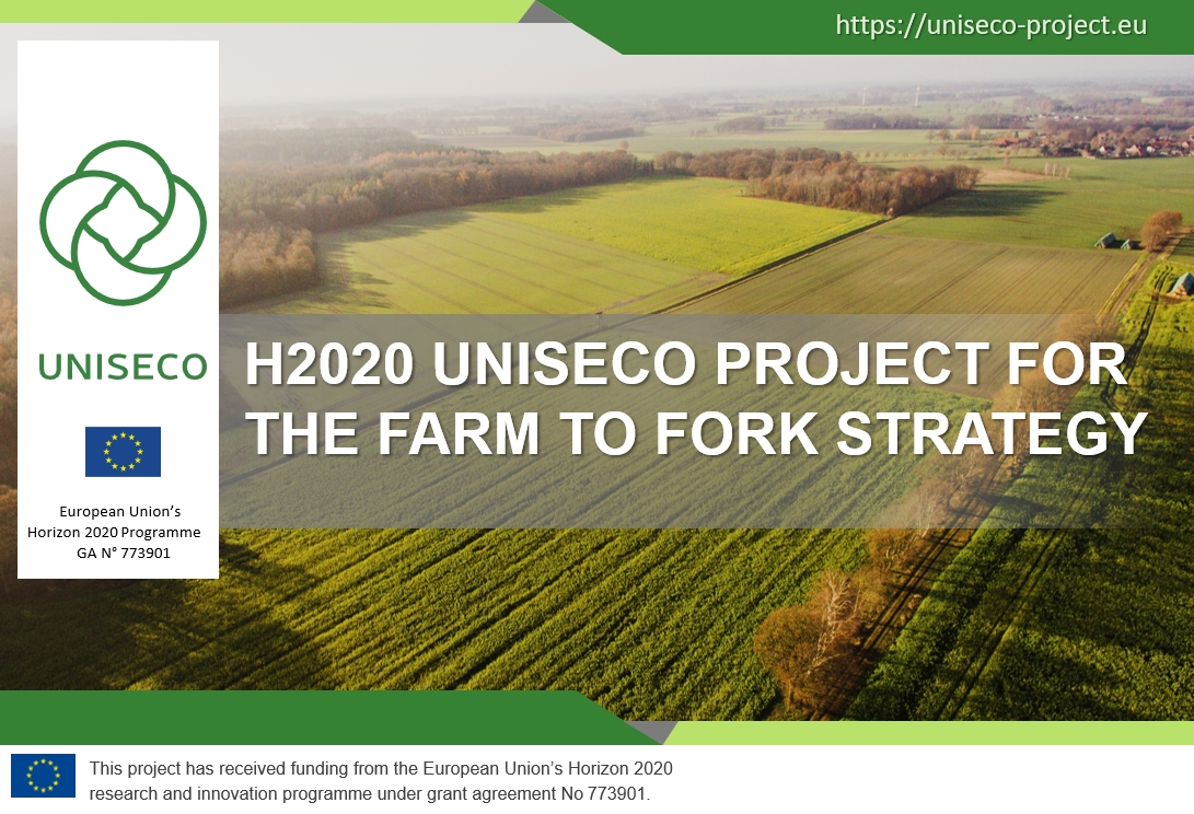 H2020 UNISECO Project for the Farm to Fork Strategy
